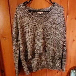 Short sparkle sweater size M